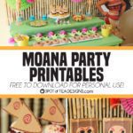 Moana Party Printables – Free to Download for Personal Use