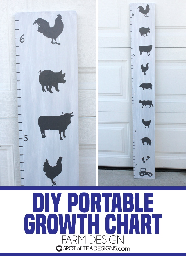 DIY portable Growth Chart | Farm Design