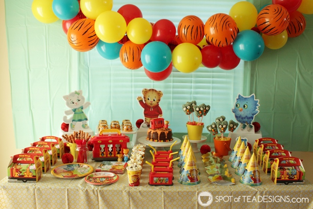 Party animals party how to make a balloon arch spot of tea designs