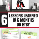 6 Lessons Learned in 6 Months on Etsy {GUEST POST}
