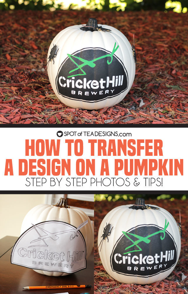 How To Transfer A Design Onto A Pumpkin