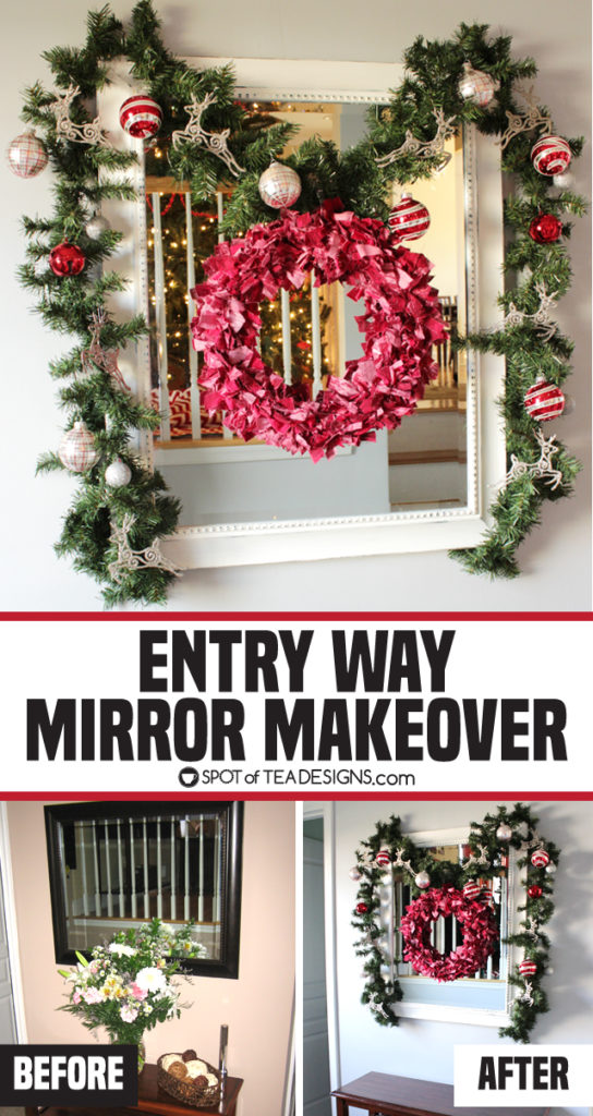 Entry Way Mirror Makeover