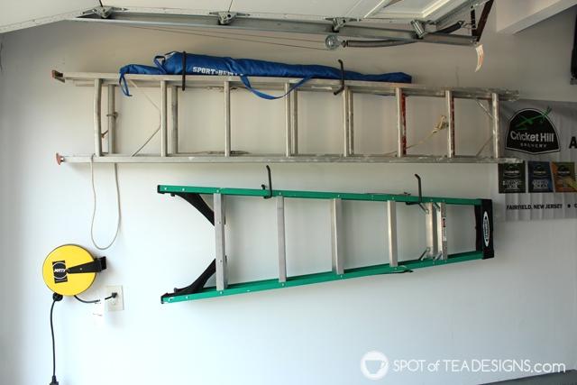 Organized garage tour | spotofteadesigns.com