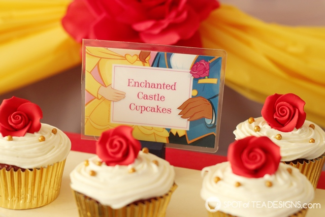 Beauty and the Beast Party Hacks   spotofteadesigns.com