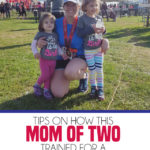 How this mom of 2 trained for a 10 mile race