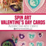 Kids Craft: Spin Art Valentine's Day Cards
