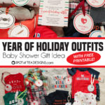 Baby Shower Gift Idea: Year of Holiday Outfits