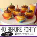 40 Before Forty – Four Years to Go