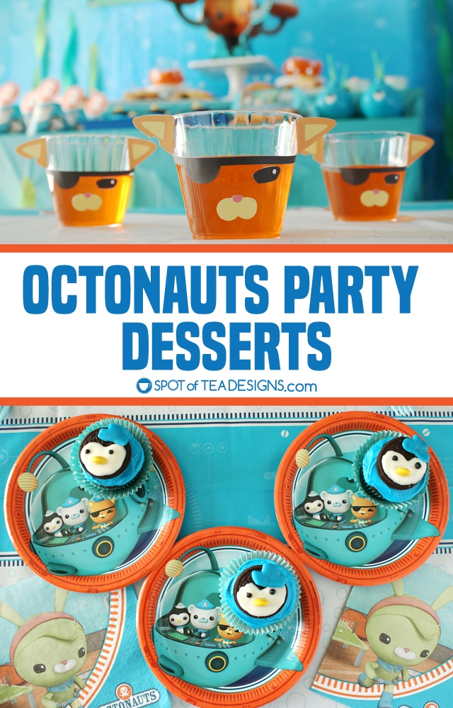 Octonauts Party Desserts