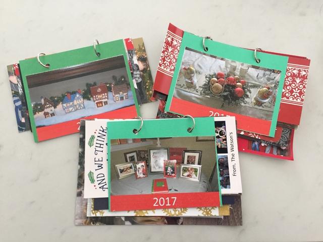 Spotofeadesigns.com reader's feature - christmas flip books by Sara