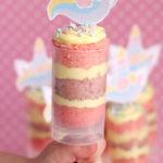 Unicorn Cake Push Pops