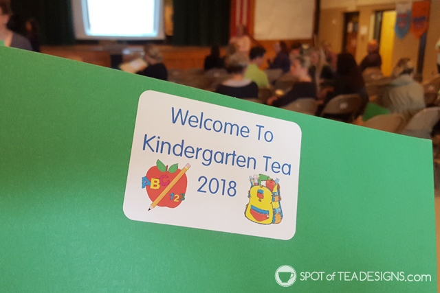 10 Things I learned at my first kindergarten tea - an introduction to the upcoming school year | spotofteadesigns.com
