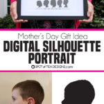 Mother's Day Gift Idea: Digital Silhouette Portrait