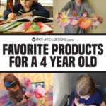 Favorite Products for a 4 year old