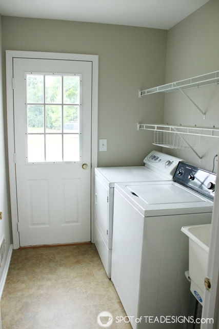 "Nehil Home Tour: the ""before"" photos - laundry room 