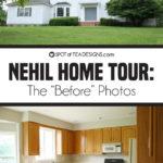 Nehil Family Home   Before Photos