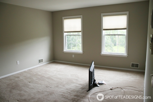"Nehil Home Tour: the ""before"" photos - master bedroom 