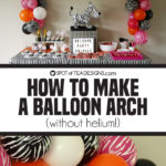 Party Animals Party | How To Make A Balloon Arch