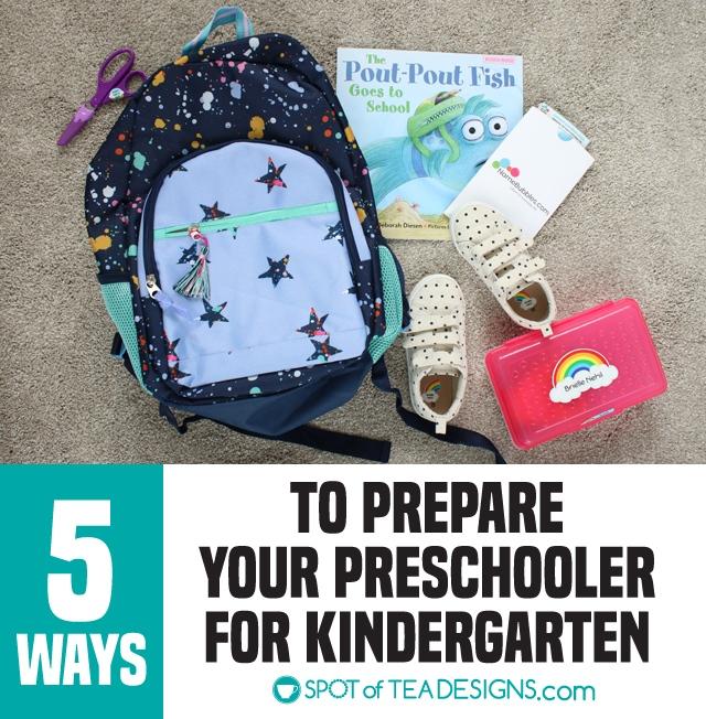 5 Ways We're Preparing our Preschooler for Kindergarten