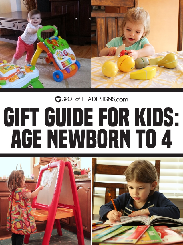 Holiday Gift Guide for Newborns to Kids Age 4