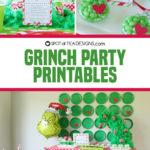 Grinch Party Printables