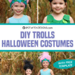 DIY Poppy and Branch Trolls Halloween Costumes