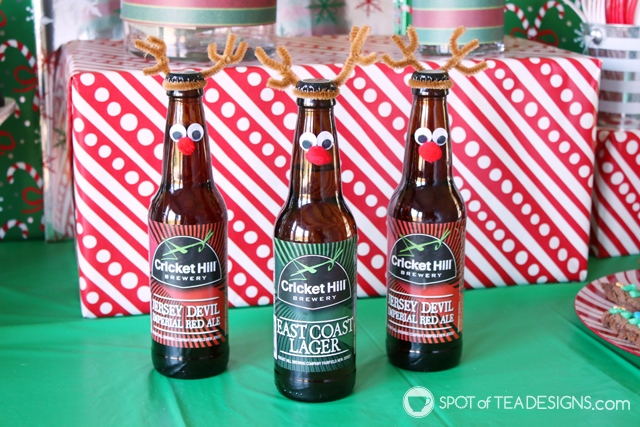 8+ DIY Beer gift ideas - reinbeers   spotofteadesigns.com